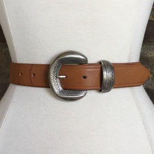 Vintage Belt S Leather Boho Tribal Southwestern